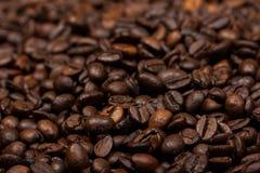 Coffee beans close-up. Texture Stock Photos