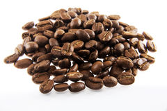 Coffee beans in closeup Royalty Free Stock Photo