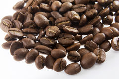 Coffee beans in closeup Royalty Free Stock Image