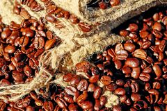 Coffee, Beans, Coffee Beans Royalty Free Stock Photo