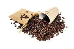 Coffee beans concept Stock Photography