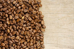 Coffee beans with copy space Stock Photo