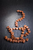 Coffee beans cup Royalty Free Stock Photography