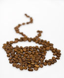 Coffee beans cup Royalty Free Stock Photo