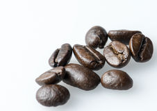 Coffee beans detail royalty free stock image
