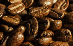 Coffee beans detail Royalty Free Stock Photo