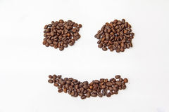 Coffee beans. Beans drinks foods morning refreshment Stock Image