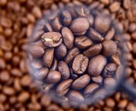 Coffee beans espresso Royalty Free Stock Images