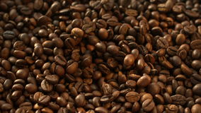 Coffee Beans Flying at Slow Motion 1500fps stock video footage