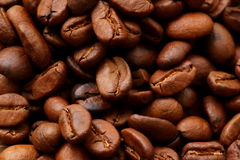 Coffee beans. Are a foretaste of sapachu and armotu cup filled with this wonderful drink Royalty Free Stock Photography
