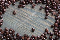 Coffee beans frame Stock Photos