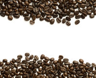 Coffee beans frame Royalty Free Stock Photography
