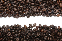 Coffee beans frame Royalty Free Stock Photos