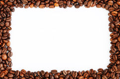 Coffee beans frame Stock Photo