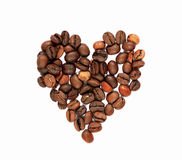 Free Coffee Beans Heart Royalty Free Stock Photo - 8029335