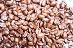 Coffee beans high key royalty free stock photo