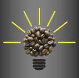 Coffee beans Idea Stock Photography