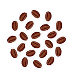 Coffee Beans illustration Royalty Free Stock Photo