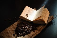 Coffee beans. Stock Photos