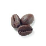 Coffee beans isolate on white. Background Stock Photos