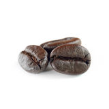 Coffee beans isolate on white background Stock Image