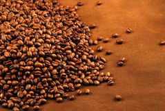 Coffee beans isolated Royalty Free Stock Photo