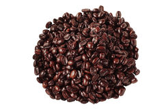 Coffee Beans Isolated Stock Photography
