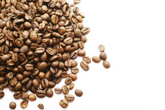 Coffee beans isolated. Coffee beans  isolated in white background Stock Images