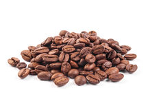 Free Coffee Beans Isolated On White Background Stock Images - 43588034