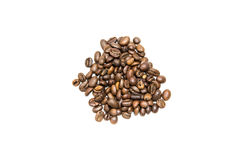 Coffee Beans isolated. On a white background royalty free stock photo