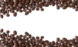 Coffee beans isolated on White background. Coffee beans on White background Stock Photo