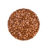 Coffee beans isolated on White background. Coffee beans on White background Royalty Free Stock Photos