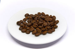 Coffee Beans isolated on white background. Arabica Coffee Beans isolated on white background Stock Images