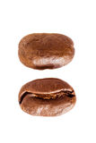 Coffee beans. Isolated on white background Stock Photos