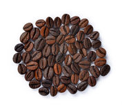Coffee beans isolated Stock Photos
