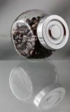 Coffee beans jar Royalty Free Stock Photos
