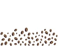 Coffee Beans Logo Template vector icon. Design royalty free illustration