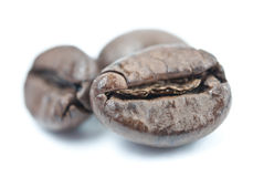 Coffee beans macro Stock Photo
