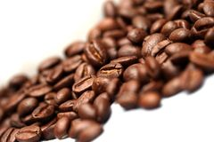 Coffee Beans. A mug of coffee beans Royalty Free Stock Images