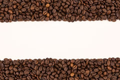 Coffee Beans On A White Background Royalty Free Stock Image