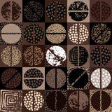 Coffee beans pattern Stock Photo