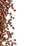Coffee beans pattern. With white space Stock Photography