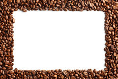 Coffee beans pattern Royalty Free Stock Photos