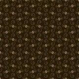Coffee beans pattern Stock Image