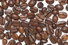 Coffee beans for pattern Royalty Free Stock Images