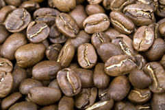 Coffee beans pattern Stock Images