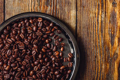 Coffee Beans on Plate. stock photos
