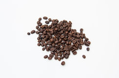Coffee beans. Roast  instant natural  grinder coffee Royalty Free Stock Images