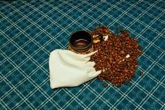 Coffee beans roasted  aroma aromatic Stock Photos