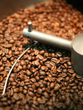 Coffee beans roasting Royalty Free Stock Photo